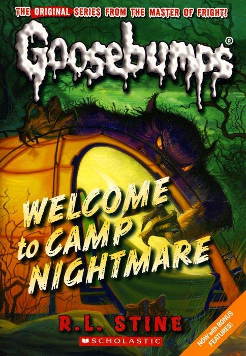 *小貝比的家*GOOSEBUMPS#14:WELCOME TO CAMP NIGHTMARE/平裝/7~12歲/小說