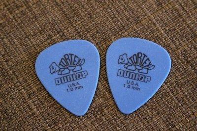 【老羊樂器店】Dunlop TOREX pick 小烏龜 藍 吉他彈片匹克 1.0 mm