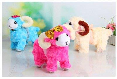 省很多~牽繩溜羊..牽繩羊.小孩玩具.可愛小羊.小孩遛小羊.