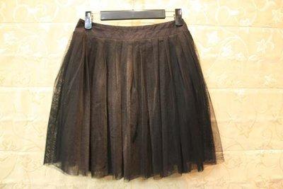 【性感貝貝2館】Nuee 專櫃 黑色網紗質澎澎裙短裙, Ined Shelter.Q Rouge Diamant 款式