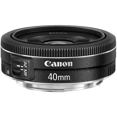【高雄四海】Canon EF 40mm F2.8 STM 全新平輸.一年保固.全片幅餅乾鏡.APS-C可用 步進式馬達
