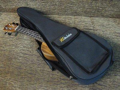 ☆ 唐尼樂器︵☆優質26吋 Ukulele 烏克麗麗琴袋/背袋(8mm厚珍珠棉)含橡膠提把/側背帶/置物袋