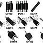 高傳真音響【D0459】RCA母轉RCA母中繼連接頭.延長.線材訂做.AV配件.影音訊號線
