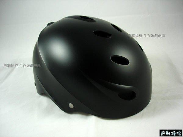 【野戰搖滾-生存遊戲】 仿美軍特種部隊作戰頭盔、傘兵盔(黑色)