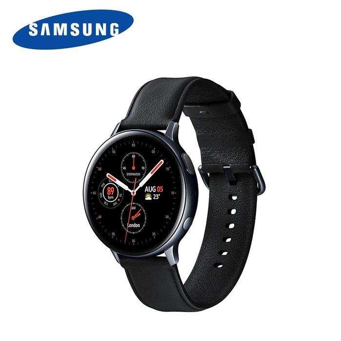 【桃園幸運草】【送$1990無線充電盤】SAMSUNG Galaxy Watch Active2 (不鏽鋼) 44m