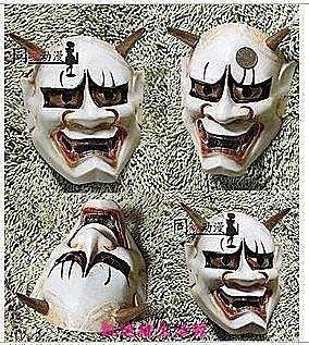 【凱迪豬生活館】蘭陵王面具 日本佛教鬼首般若 鬼頭般若 cosplay道具面具KTZ-200993
