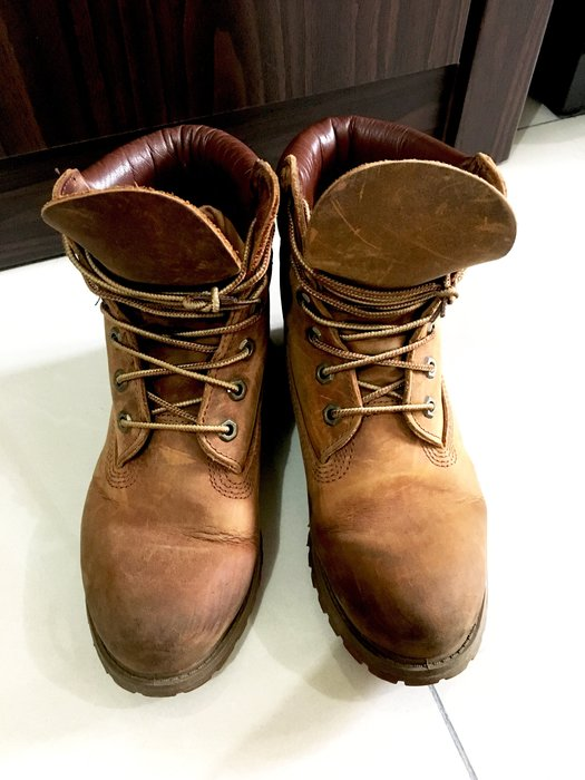 SOGO百貨公司專櫃購入 Timberland 經典黃靴/馬汀鞋 5.5號