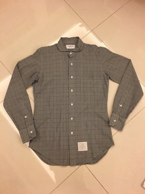 【現貨特賣】Thom Browne 專櫃正品經典格紋襯衫 (NEW YORK)好萊塢男星,時尚追捧品牌