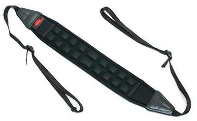 呈現攝影-韓國AIR CELL 5.5cm 氣墊式舒壓相機背帶 AIR-02 減壓背帶 透氣 顆粒 數位單眼 黑色