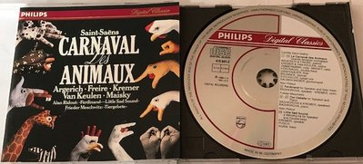Philips Argerich Animals Carnaval 動物嘉年華