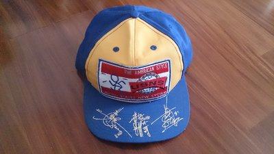 USNS X L.A.BOYZ 洛城三兄弟 全新 未使用 絕版簽名棒球帽 黃立成 黃立行 林智文