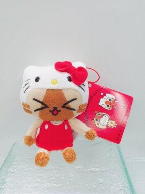 日本三麗鷗 AIROUX x HELLO KITTY聯名特別版鑰匙圈吊飾