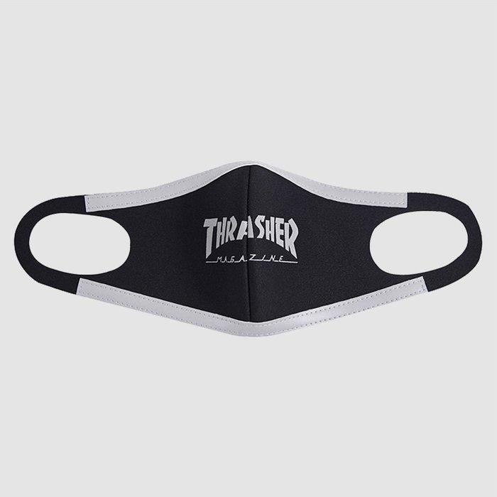 【QUEST】THRASHER HOMETOWN FACE MASK 口罩 火焰 滑板 太空棉