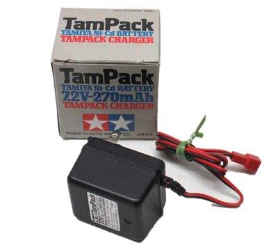 TAMIYA Ni-Cd BATTERY 7.2V-270mAh TAMPACK CHARGER 充電器 タムパック專用