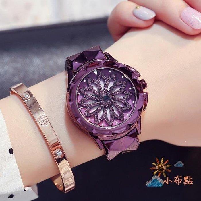 YEAHSHOP 流行女錶手錶女潮流大錶盤時尚水女士鋼帶時來運轉正韓休閒女生手錶防水Y185