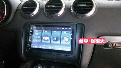 俗很大~JHY-M3系列 / 奧迪 AUDI /奧迪TT七吋智慧型通用安卓機 (奧迪TT實裝車)