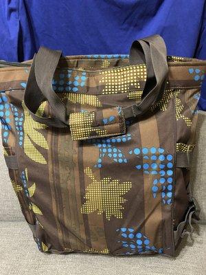 二手 ❤Timberland  ❤大托特包 ❤帆布側背包 ❤迷彩包 ❤大容量