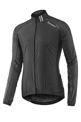全新 公司貨 新款 捷安特 GIANT SUPERLIGHT 超輕量風衣 可收納至車衣口袋 黑色