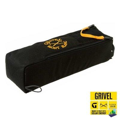 RV城市【義大利 Grivel】CRAMPON SAFE輕巧雙邊拉鍊冰爪收納袋.露營裝備工具袋.收納包 RBCRSAFE