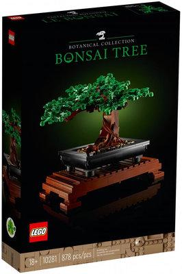 【CubeToy】樂高 10281 盆栽 / 創意系列 花藝收藏 - LEGO Creator Bonsai Tree