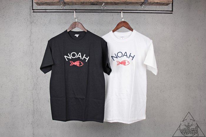 【HYDRA】Noah NYC Fishbone Core Logo Tee 十字 魚 短T【NA31】