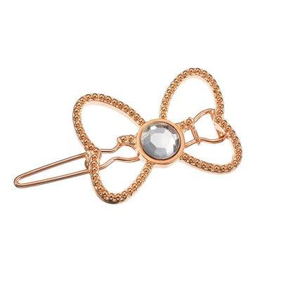 米妮蝴蝶節水鑽髮夾 扣夾 髮飾 日本迪士尼商店正版~彤小皮的遊go世界