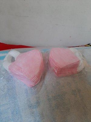 全心全益_台灣製造優紙兒童3D防護口罩50入粉紅色售價699元