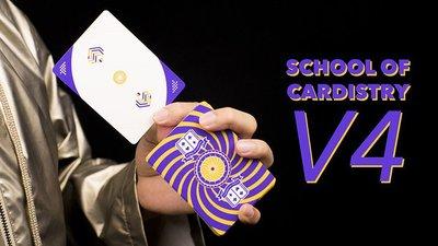 【天天魔法】【S1333】正宗原廠~花切學校V4版~The School of Cardistry V4 Deck