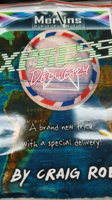 【天天魔法】【1623】快遞預言~Xpress Delivery  by Craig Roe