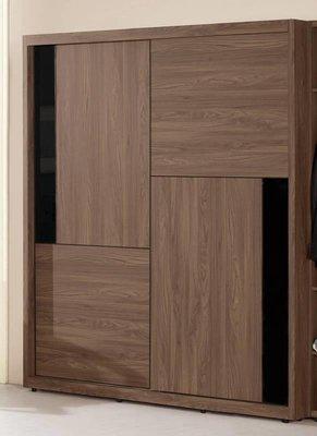 【風禾家具】FQM-616-2@YK推門式5尺衣櫃【台中22600送到家】低甲醛木心板 衣櫥 北歐風 傢俱 附穿衣鏡