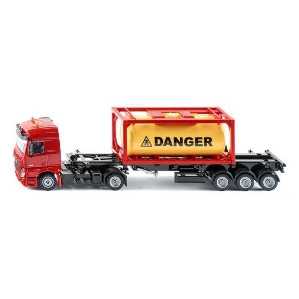 【阿LIN】3922AA SIKU 賓士氣體運輸卡車 1:50 運輸車 模型車 收藏 擺飾