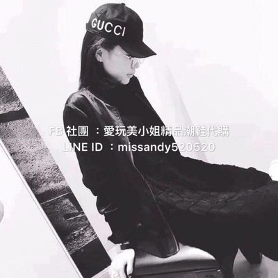 Gucci  loved 刺繡帽子 男女同款