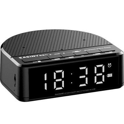 3.5寸 屏顯智能鬧鐘加收音機迷你你可插卡小音響MP3音炮帶鬧鐘(白燈版) 新台幣:568元