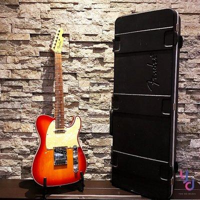已售罄 二手美品 2010年 美廠 Fender Tele Deluxe 8成新 原廠無改 含原廠 硬盒