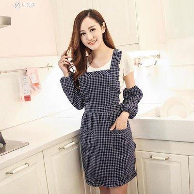【蘑菇小隊】家用韓國圍裙韓版廚房公主背心式歐式防水韓式成人背帶式女士-MG37222