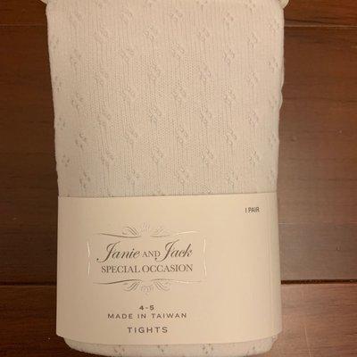 出清JANIE AND JACK J&J special occasion洞洞褲襪 4-5