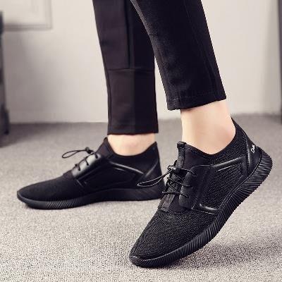 皮鞋 男工作上班工地干活穿軍訓防滑耐磨皮鞋黑色勞保工裝鞋