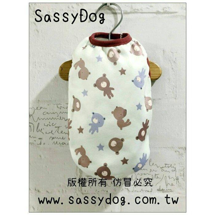 SassyDog 寵物服飾用品批發💥大狗小熊保暖背心/保暖衣💥狗衣服批發