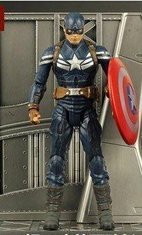 美國隊長2電影版美國隊長復仇者聯盟手辦模型人偶超可動