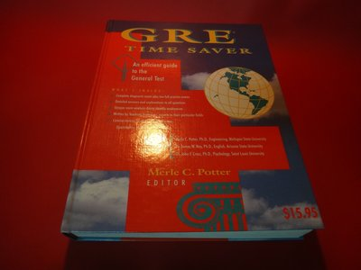 【愛悅二手書坊 01-45】GRE Time Saver:An Efficient Guide to the -