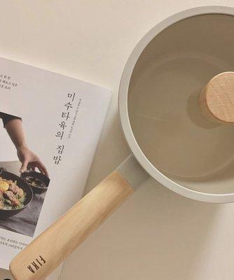 [現貨] 韓國直進 大廠 Neoflam Fika 牛奶鍋系列 單柄 18cm 湯鍋 (附蓋)  IH 瓦斯爐 可使用