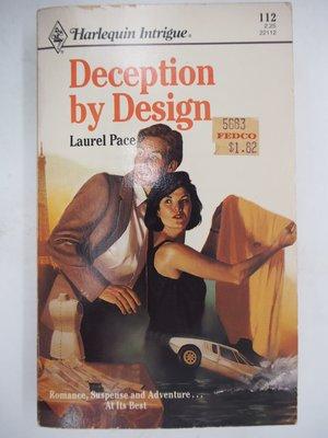 【月界二手書店】Deception By Design_Laurel Pace_外曼死亡陷阱原文版 〖外文小說〗CJO