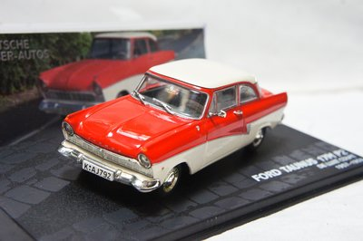 【超值特價】1:43 Altaya Ford Taunus 17M P2 de Luxe Coupe 1957