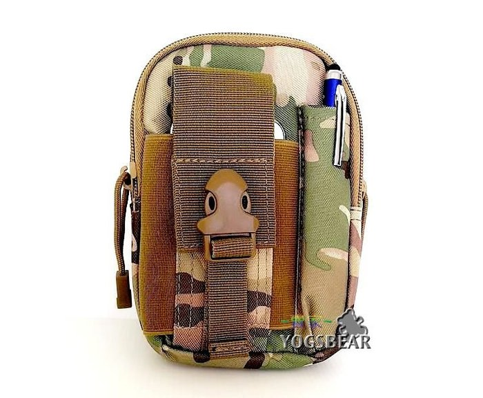 【YOGSBEAR】E 6吋手機袋 直立式 手機包 腰包 工具包 護照包 錢包1525