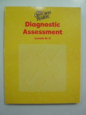 A2☆2002年『OPEN COURT READING』《Diagnostic Assessment》Levels K-3