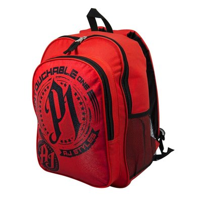 ☆阿Su倉庫☆WWE AJ Styles Untouchable One Backpack AJ最新款後背包 熱賣特價中