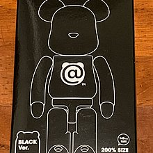 Black version 200% bearbrick 超合金