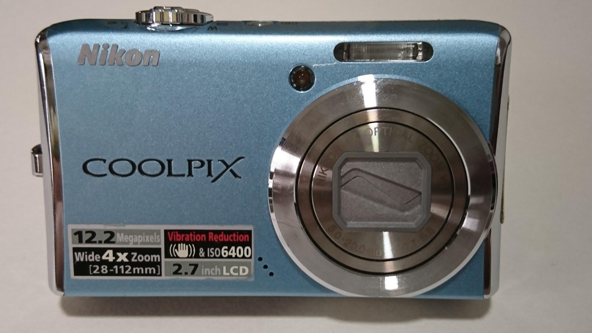 Nikon s620數位相機 附原廠配件-雙鋰電池+座充