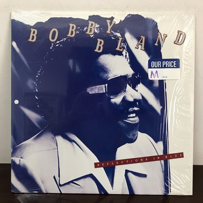 晨雨黑膠【爵士】美版/Bobby Bland – Reflections In Blue (1977首版)
