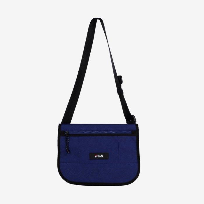 【Luxury】FILA LOGO SHOULDER BAG 斜背包 運動 斜背 側背 迷你 腰包 斐樂 郵差包 男女